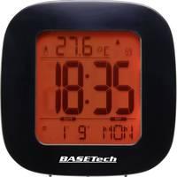 Rádióvezérelt DCF ébresztőóra, beltéri hőmérővel Basetech E0126R Basetech