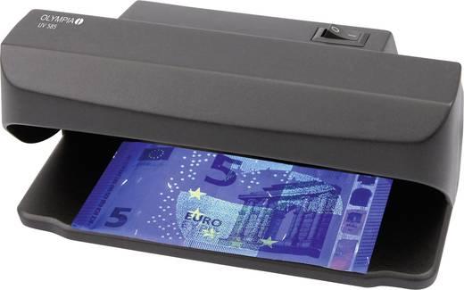 Bankjegyvizsgáló Olympia UV 585 Világítással