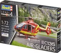 Revell 04986 Airbus EC-135 Air-Glaciers Helikopter építőkészlet 1:72 Revell