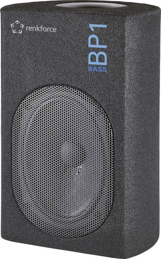 Autó subwoofer, passzív, 200 W, renkforce Bass BP1