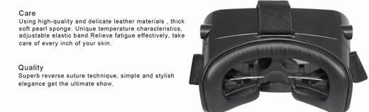 VR szemüveg, virtuális valóság szemüveg, fekete, renkforce G-01