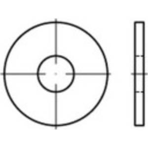 Alátétek 8.4 mm 24 mm Acél Galvanikusan cinkezett 100 db TOOLCRAFT 146444 TOOLCRAFT
