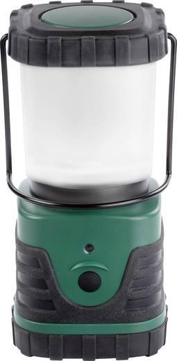 LED-es kemping lámpa, elemes, 419 g, sötétzöld/fekete, Ampercell ELBA 10400
