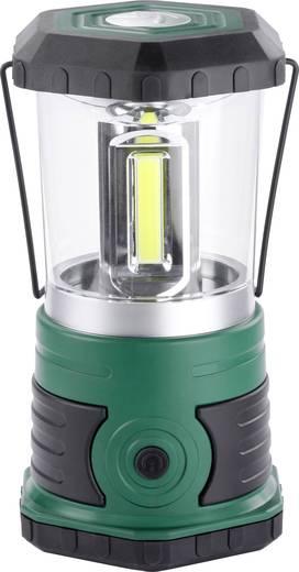 LED-es kemping lámpa, elemes, 700 g, sötétzöld/fekete, Ampercell Korsika 10401