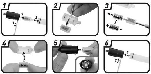 LED-es kemping lámpa, elemes, 18 g, fekete, Nite Ize Mini GlowStick NI-MGS-02-R6