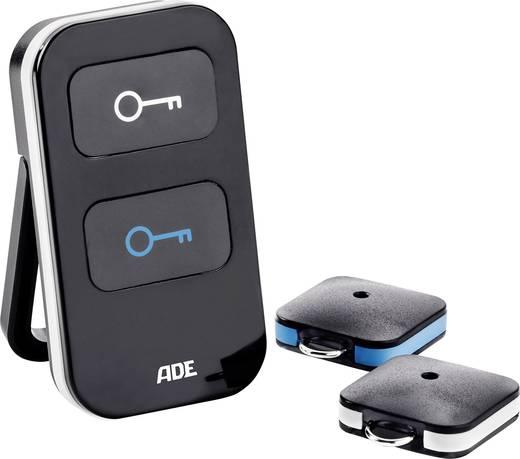 Kulcskerső két vevővel, fekete, ADE KF 1600