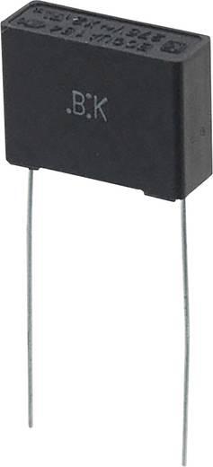 Fóliakondenzátor Radiális kivezetéssel 0.15 µF 275 V/AC 10 % 15 mm (H x Sz) 17.5 mm x 6 mm Panasonic ECQ-UAAF154K 1 db
