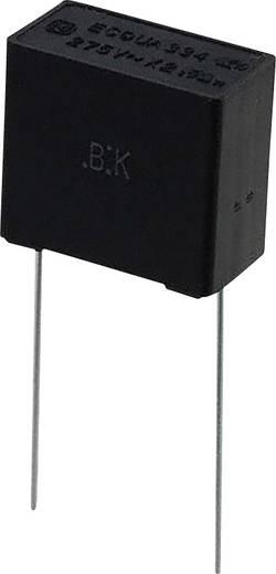 Fóliakondenzátor Radiális kivezetéssel 0.33 µF 275 V/AC 10 % 15 mm (H x Sz) 17.5 mm x 9 mm Panasonic ECQ-UAAF334K 1 db