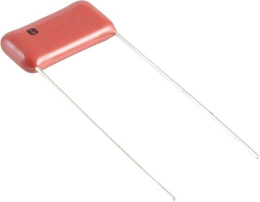 Fóliakondenzátor Radiális kivezetéssel 0.12 µF 400 V/DC 5 % 15 mm (H x Sz) 18.5 mm x 5 mm Panasonic ECQ-E4124JF 1 db