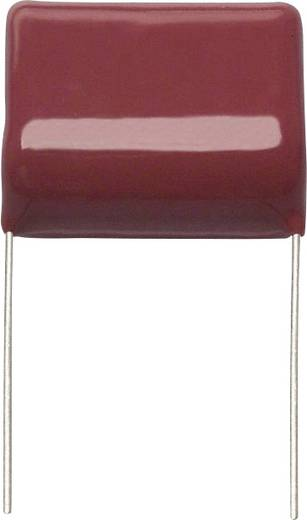Fóliakondenzátor Radiális kivezetéssel 1.1 µF 630 V/DC 5 % 25 mm (H x Sz) 28 mm x 16.3 mm Panasonic ECW-F6115JL 1 db