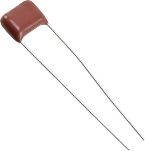 Fóliakondenzátor Radiális kivezetéssel 0.12 µF 100 V/DC 10 % 7.5 mm (H x Sz) 10.3 mm x 4.5 mm Panasonic ECQ-E1124KF 1 db
