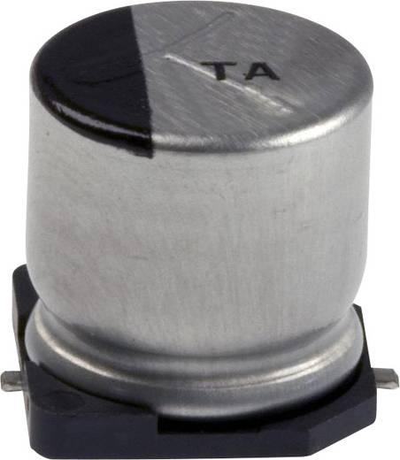 Elektrolit kondenzátor SMD 47 µF 50 V 20 % (Ø x H) 10 mm x 7.3 mm Panasonic EEV-TA1H470P 1 db