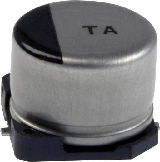 Elektrolit kondenzátor SMD 100 µF 10 V 20 % (Ø x H) 8 mm x 7.3 mm Panasonic EEV-TA1A101P 1 db