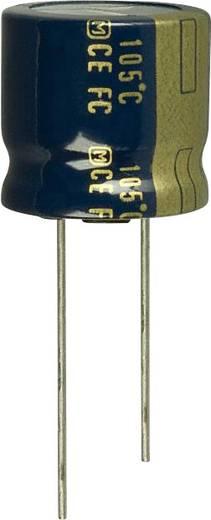 Elektrolit kondenzátor Radiális kivezetéssel 7.5 mm 3300 µF 6.3 V 20 % (Ø) 18 mm Panasonic EEU-FC0J332S 1 db