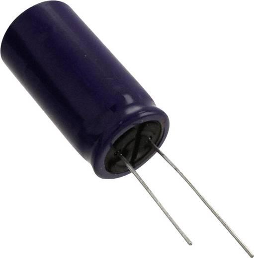 Elektrolit kondenzátor Radiális kivezetéssel 5 mm 4700 µF 10 V 20 % (Ø) 10 mm Panasonic ECE-A1AN472U 1 db