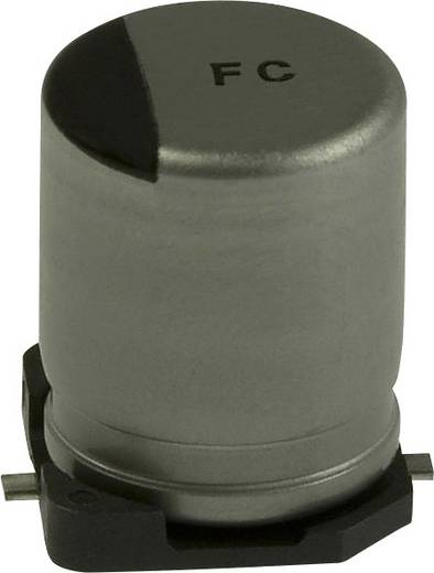 Elektrolit kondenzátor SMD 100 µF