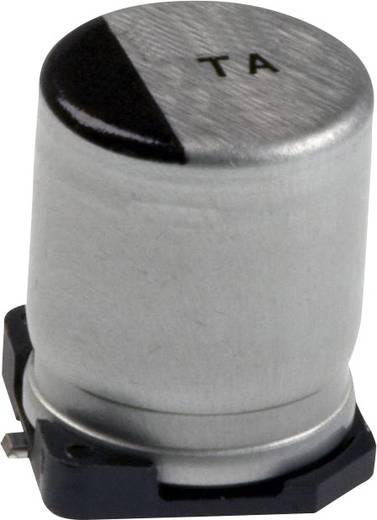 Elektrolit kondenzátor SMD 220 µF 10 V 20 % (Ø x H) 8 mm x 7.3 mm Panasonic EEV-TA1A221P 1 db