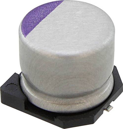 Elektrolit kondenzátor SMD 39 µF 35 V 20 % (Ø) 8 mm Panasonic 35SVPF39M 1 db