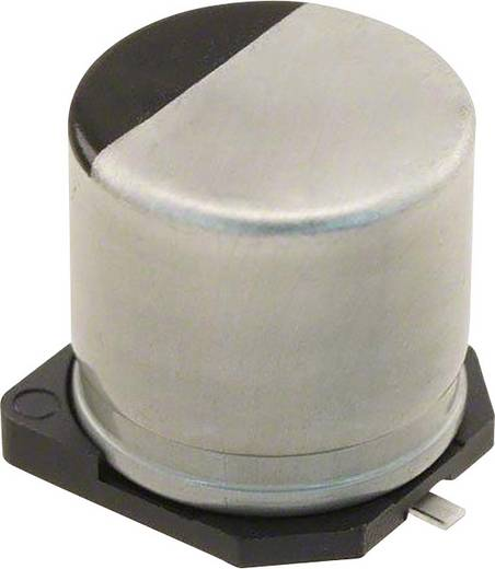 Elektrolit kondenzátor SMD 100 µF 50 V 20 % (Ø) 10 mm Panasonic EEH-ZA1H101P 1 db