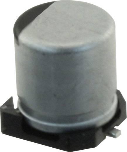Elektrolit kondenzátor SMD 10 µF 50 V 20 % (Ø) 5 mm Panasonic EEH-ZA1H100R 1 db