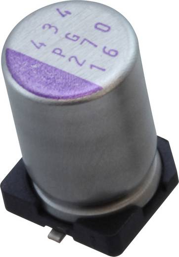 Elektrolit kondenzátor SMD 47 µF 16 V 20 % (Ø) 5 mm Panasonic 16SVPG47M 1 db