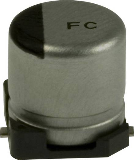 Elektrolit kondenzátor SMD 10 µF 35 V 20 % (Ø) 5 mm Panasonic EEE-FC1V100AR 1 db