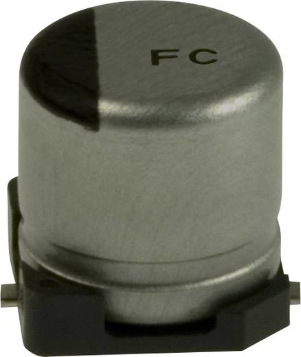 Elektrolit kondenzátor SMD 10 µF 35 V 20 % (Ø) 5 mm Panasonic EEE-FC1V100R 1 db