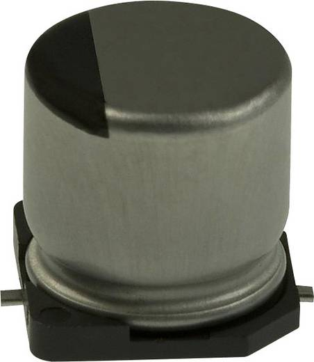 Elektrolit kondenzátor SMD 10 µF 25 V 20 % (Ø) 4 mm Panasonic EEE-HA1E100WR 1 db