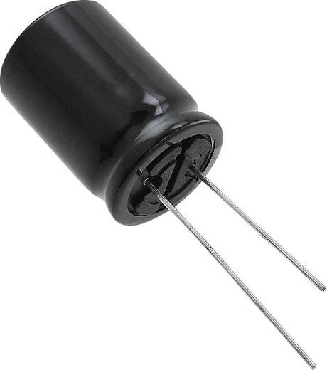 Elektrolit kondenzátor Radiális kivezetéssel 7.5 mm 3300 µF 25 V 20 % (Ø x H) 18 mm x 7.3 mm Panasonic EEU-TP1E332SB 1 db