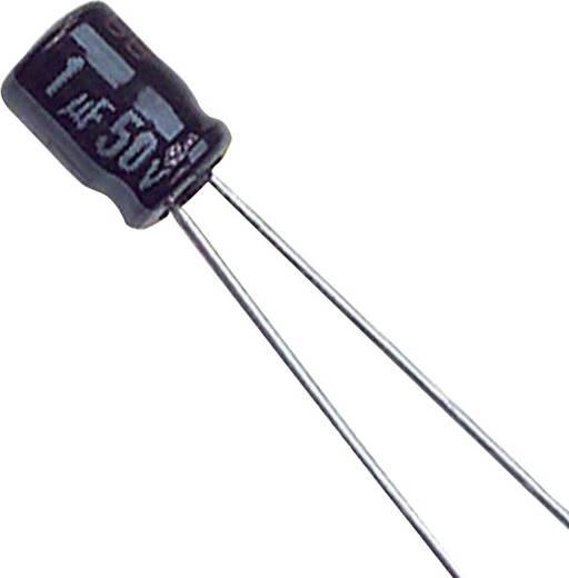Elektrolit kondenzátor Radiális kivezetéssel 1.5 mm 22 µF 6.3 V 20 % (Ø) 4 mm Panasonic ECE-A0JKS220 1 db