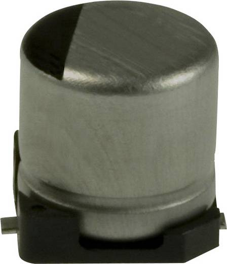 Elektrolit kondenzátor SMD 100 µF 10 V 20 % (Ø) 5 mm Panasonic EEE-1AA101WR 1 db