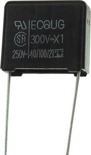 Fóliakondenzátor Radiális kivezetéssel 0.1 µF 300 V/AC 20 % 12.5 mm (H x Sz) 15 mm x 8 mm Panasonic ECQ-U3A104MG 1 db