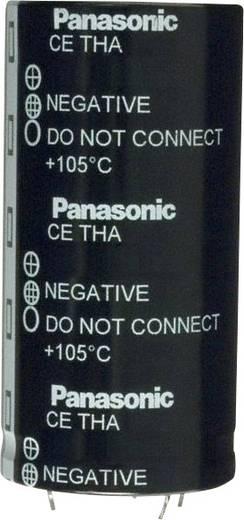 Elektrolit kondenzátor Snap-In 22.5 mm 120000 µF 16 V 20 % (Ø) 40 mm Panasonic ECE-T1CA124FA 1 db