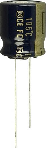 Elektrolit kondenzátor Radiális kivezetéssel 5 mm 180 µF 63 V 20 % (Ø) 12.5 mm Panasonic EEU-FC1J181S 1 db