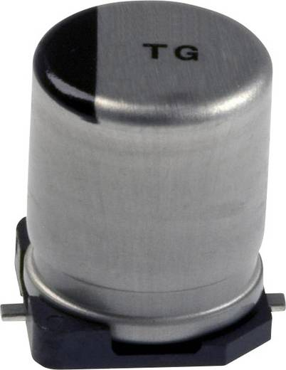 Elektrolit kondenzátor SMD 10 µF 80 V 20 % (Ø) 8 mm Panasonic EEV-TG1K100P 1 db