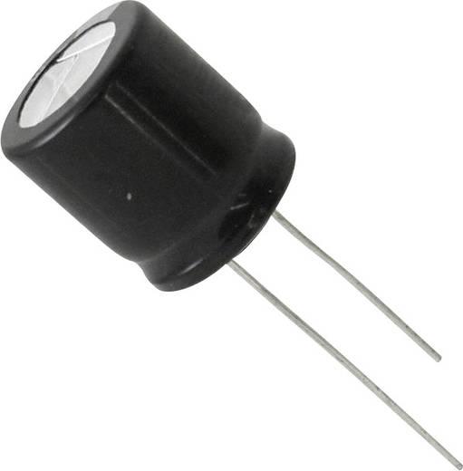 Elektrolit kondenzátor Radiális kivezetéssel 7.5 mm 47 µF 350 V 20 % (Ø x H) 18 mm x 7.3 mm Panasonic EEU-EB2V470S 1 db