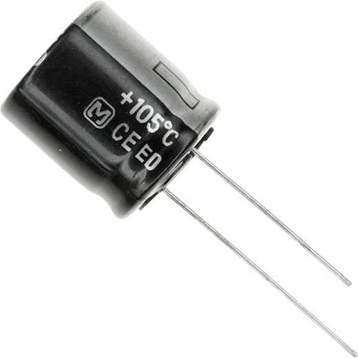 Elektrolit kondenzátor Radiális kivezetéssel 7.5 mm 220 µF 160 V 20 % (Ø) 18 mm Panasonic EEU-ED2C221S 1 db
