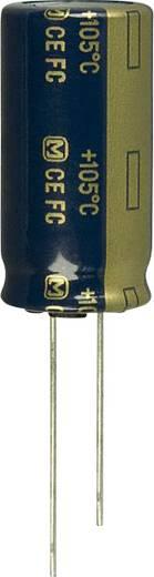 Elektrolit kondenzátor Radiális kivezetéssel 7.5 mm 820 µF 63 V 20 % (Ø) 16 mm Panasonic EEU-FC1J821 1 db