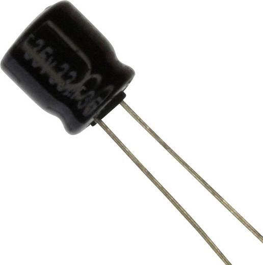Elektrolit kondenzátor Radiális kivezetéssel 2.5 mm 33 µF 35 V 20 % (Ø) 6.3 mm Panasonic ECE-A1VKA330 1 db