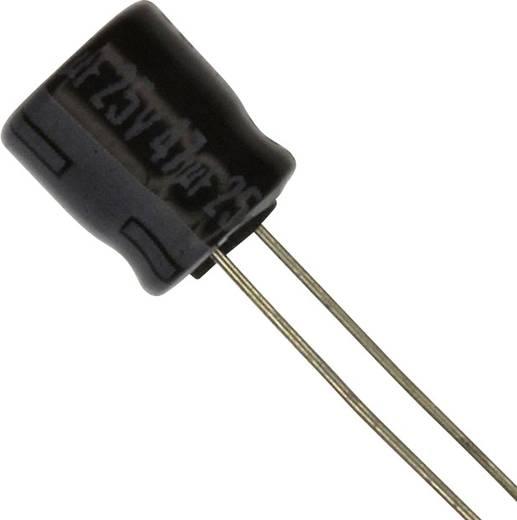 Elektrolit kondenzátor Radiális kivezetéssel 2.5 mm 47 µF 25 V 20 % (Ø) 6.3 mm Panasonic ECE-A1EKA470 1 db