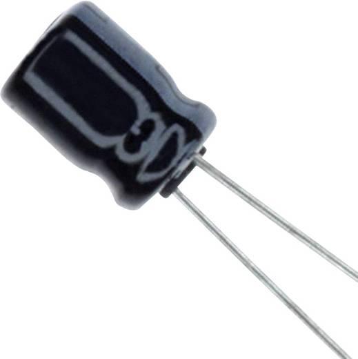 Elektrolit kondenzátor Radiális kivezetéssel 2 mm 47 µF 10 V 20 % (Ø) 5 mm Panasonic ECE-A1AKA470 1 db