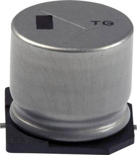 Elektrolit kondenzátor SMD 330 µF 100 V 20 % (Ø x H) 18 mm x 7.3 mm Panasonic EEV-TG2A331M 1 db