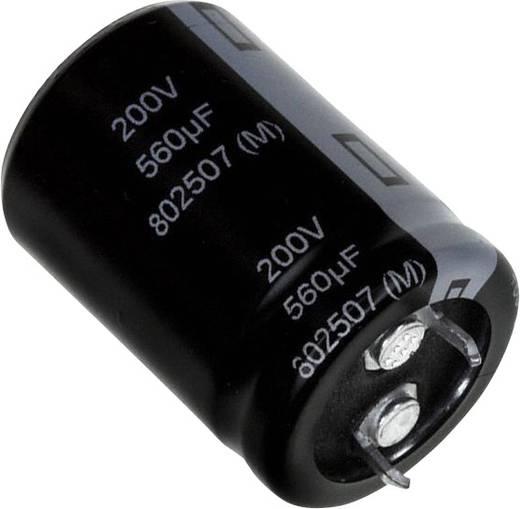 Elektrolit kondenzátor Snap-In 560 µF 160 V 20 % (Ø) 22 mm Panasonic EET-UQ2C561BA 1 db