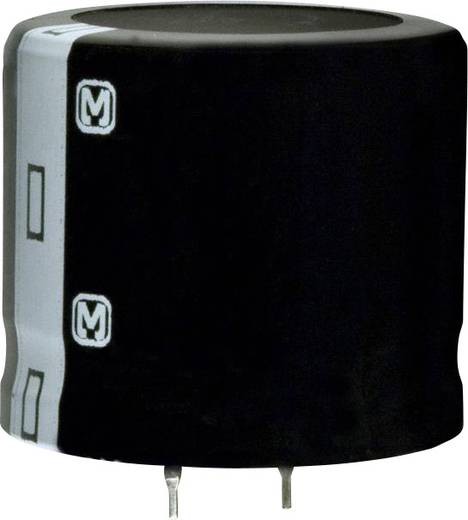 Elektrolit kondenzátor Snap-In 10 mm 27000 µF 16 V 20 % (Ø x H) 35 mm x 7.3 mm Panasonic ECO-S1CA273EA 1 db