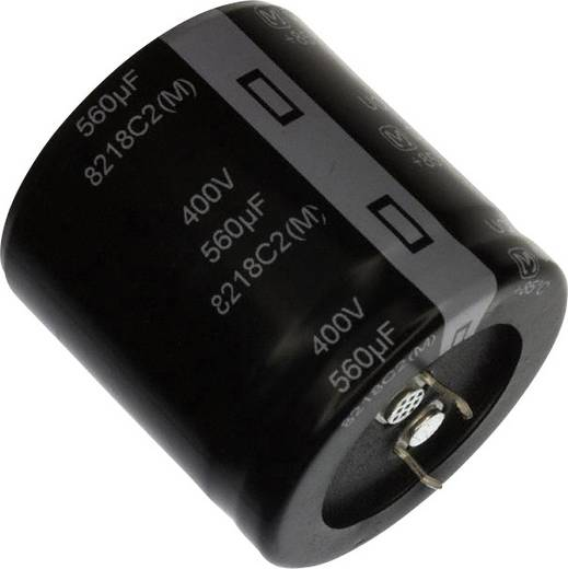 Elektrolit kondenzátor Snap-In 10 mm 390 µF 350 V 20 % (Ø) 35 mm Panasonic EET-UQ2V391LA 1 db