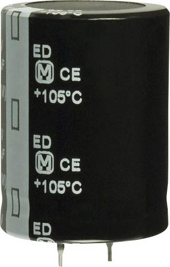 Elektrolit kondenzátor Snap-In 10 mm 1200 µF 200 V 20 % (Ø x H) 35 mm x 7.3 mm Panasonic EET-ED2D122EA 1 db