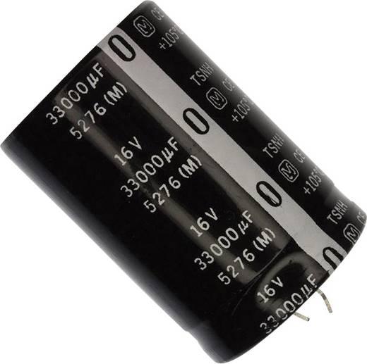 Elektrolit kondenzátor Snap-In 10 mm 33000 µF 16 V 20 % (Ø) 35 mm Panasonic ECE-S1CG333Z 1 db