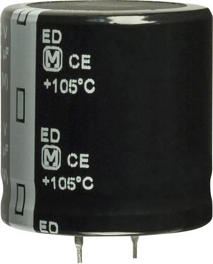 Elektrolit kondenzátor Snap-In 10 mm 1200 µF 200 V 20 % (Ø x H) 30 mm x 7.3 mm Panasonic EET-ED2D122DA 1 db