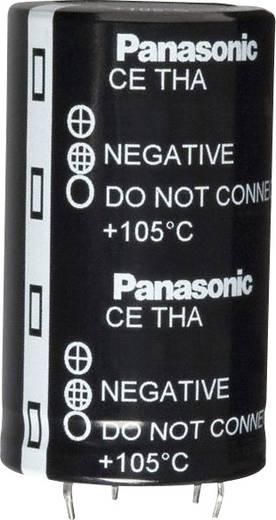 Elektrolit kondenzátor Snap-In 22.5 mm 18000 µF 50 V 20 % (Ø x H) 35 mm x 7.3 mm Panasonic ECE-T1HA183EA 1 db