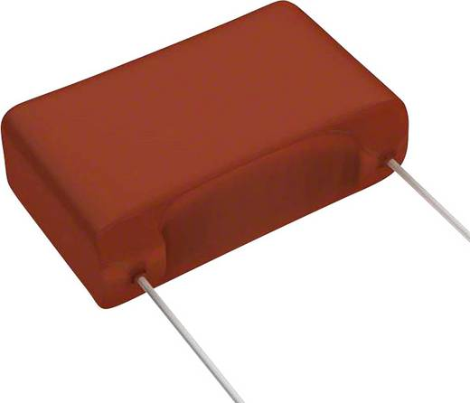 Fóliakondenzátor Radiális kivezetéssel 0.15 µF 630 V/DC 5 % 15 mm (H x Sz) 18.2 mm x 6 mm Panasonic ECW-FA2J154J 1 db